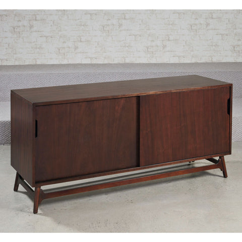 Hammary Mila Entertainment Console in Burnished Copper