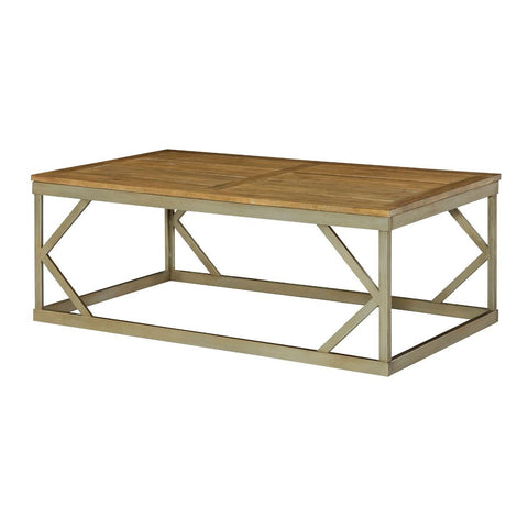 Hammary Modern Theory Rectangular Cocktail Table