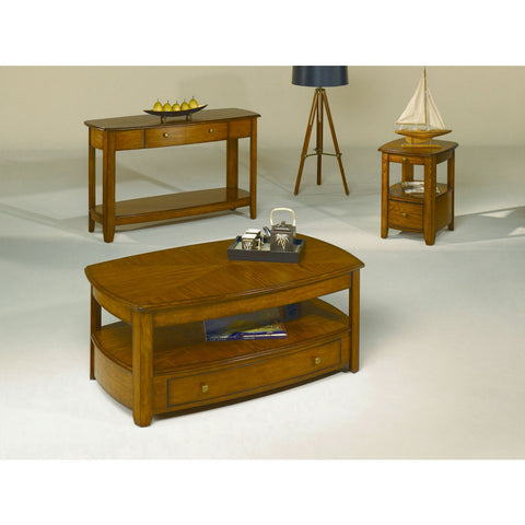 Hammary Primo 3 Piece Coffee Table Set