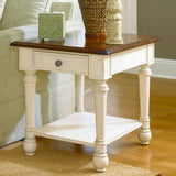 Hammary Promenade Drawer Rectangular End Table