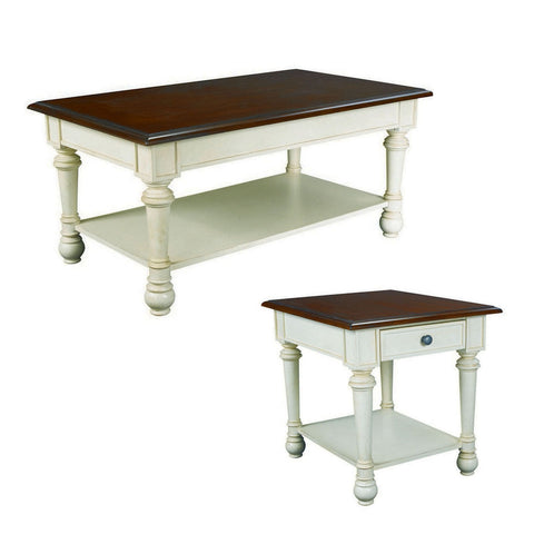 Hammary Promenade Rectangular Cocktail Table Set