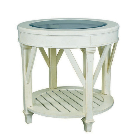 Hammary Promenade Round End Table
