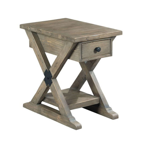Hammary Reclamation Place Chairside Table