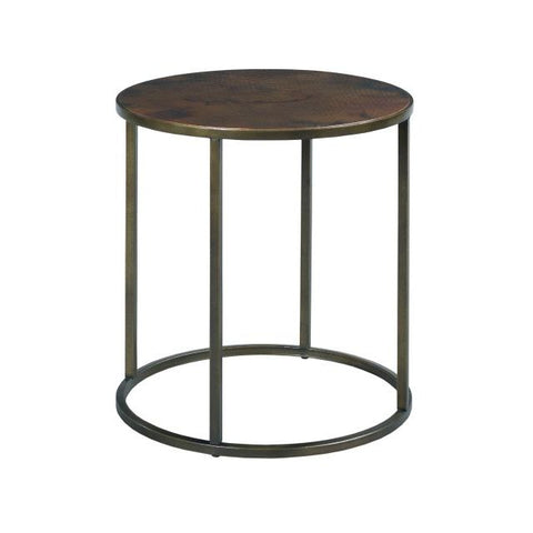 Hammary Sanford Round End Table