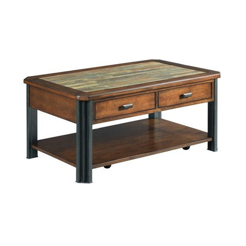 Hammary Slaton-The Hamilton Small Rectangular Cocktail Table