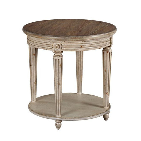 Hammary Southbury Round End Table