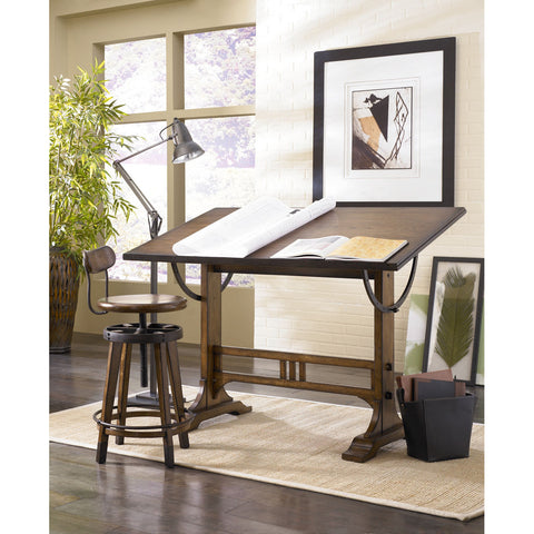 Hammary Studio Home 2 Piece Architect Desk Set