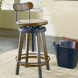 Hammary Studio Home Adjustable Office Stool
