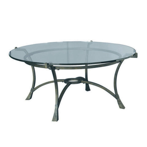 Hammary Sutton Round Cocktail Table