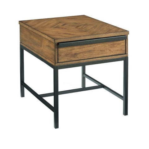 Hammary Sympli Rectangular Drawer End Table