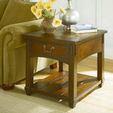 Hammary Tacoma Rectangular Drawer End Table