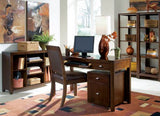 Hammary Tribecca 51 Inch Desk in Root Beer