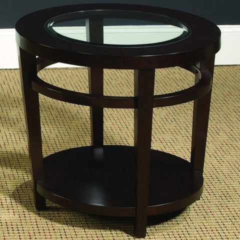 Hammary Urbana Round End Table