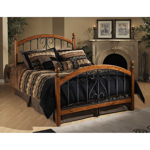 Hillsdale Burton Way Poster Bed in Black Powder Coat