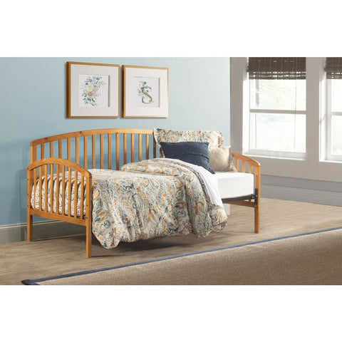 Hillsdale Carolina Daybed with Suspension Deck, Country Pine