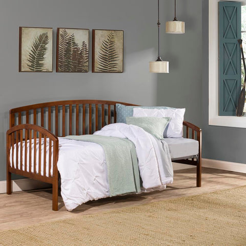 Hillsdale Carolina Daybed with Suspension Deck, Walnut
