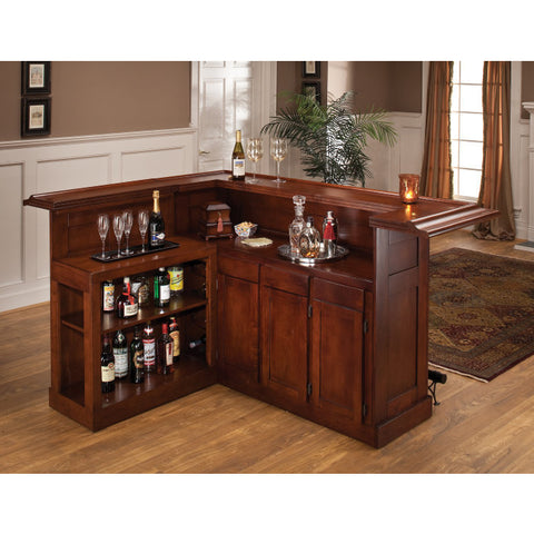 Hillsdale Classic Cherry Large Bar w/ Side Bar