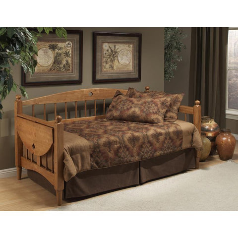 Hillsdale Dalton Daybed in Medium Oak