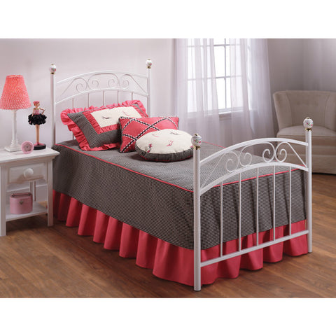 Hillsdale Emily Twin Panel Bed