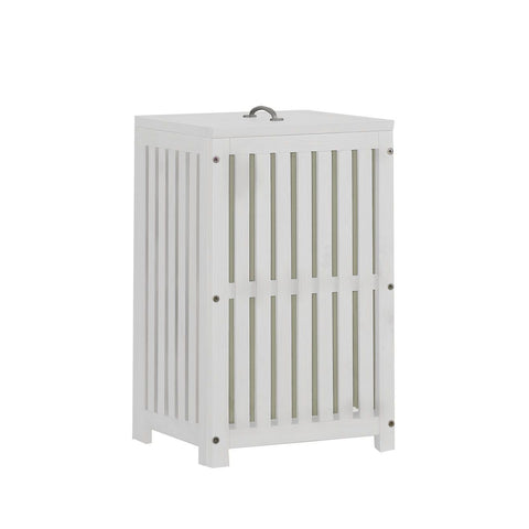 Hillsdale Furniture Highlands Clothes Hamper in White
