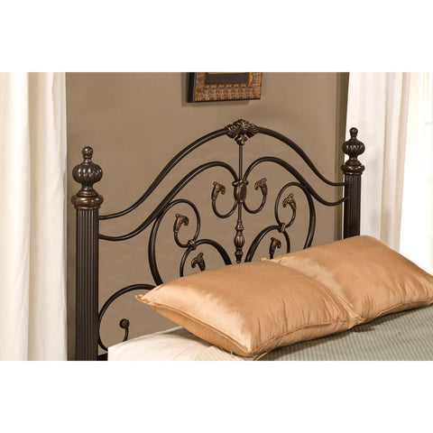 Hillsdale Grand Isle Headboard in Brushed Bronze
