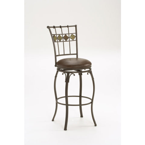 Hillsdale Lakeview Swivel 30 Inch Barstool