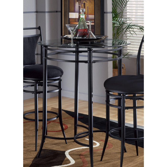 Peachy Hillsdale Mix N Match 34X34 Bistro Bar Table Gmtry Best Dining Table And Chair Ideas Images Gmtryco