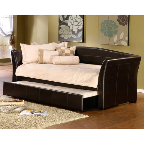 Hillsdale Montgomery Daybed w/ Trundle in Brown