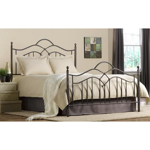 Hillsdale Oklahoma King Metal Bed in Bronze