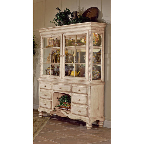 Hillsdale Wilshire Buffet in Antique White