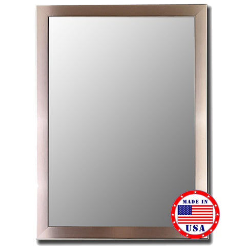 Hitchcock Butterfield Stainless Framed Wall Mirror