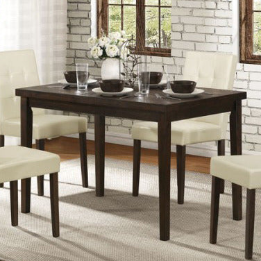 Homelegance Ahmet Dining Table in Espresso
