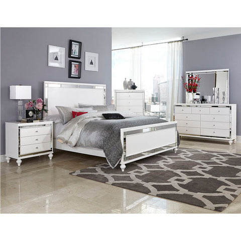 Homelegance Alonza Bed In White