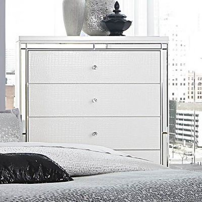 Homelegance Alonza Chest In White