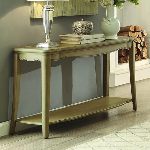 Homelegance Ashden Rectangular Sofa Table in Driftwood