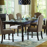 Homelegance Benwick Rectangular Dining Table in Dark Cherry