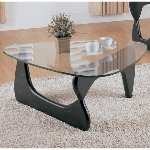 Homelegance Chorus Cocktail Table w/ Glass Top