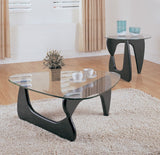 Homelegance Chorus End Table w/ Glass Top