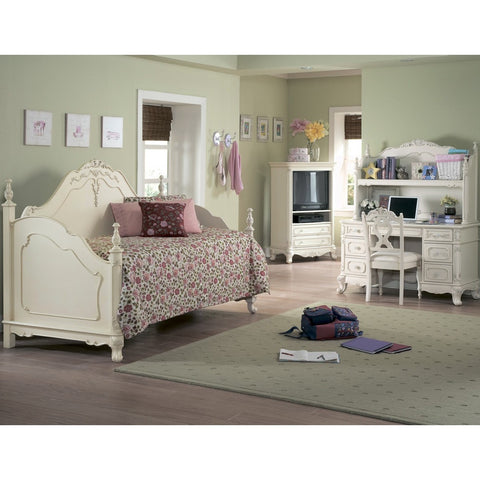 Homelegance Cinderella 5 Piece Kids' Daybed Set in White