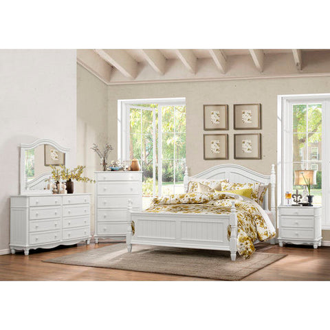Homelegance Clementine 4Pc Set In White