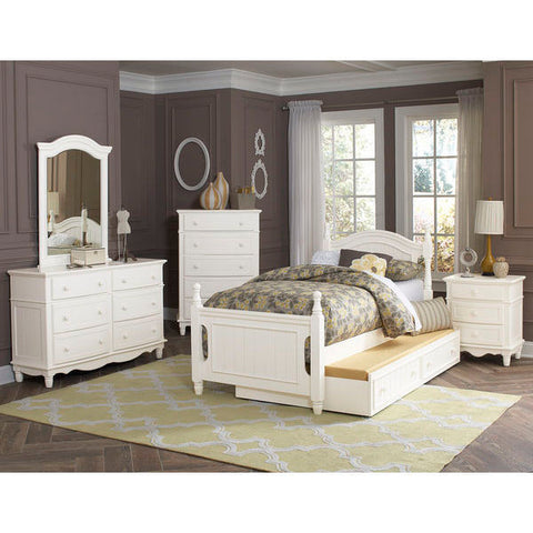 Homelegance Clementine 5 Piece Set In Antique White