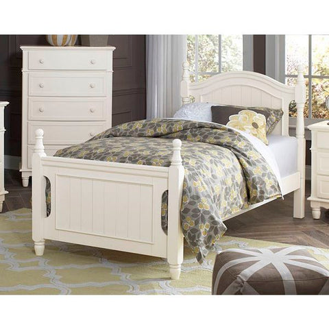 Homelegance Clementine Bed In Antique White