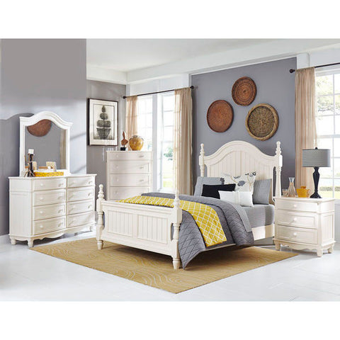 Homelegance Clementine Bed In White