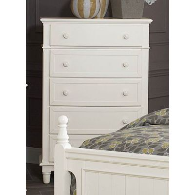 Homelegance Clementine Chest In Antique White