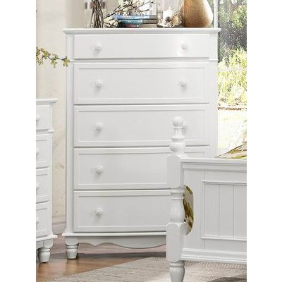 Homelegance Clementine Chest In White