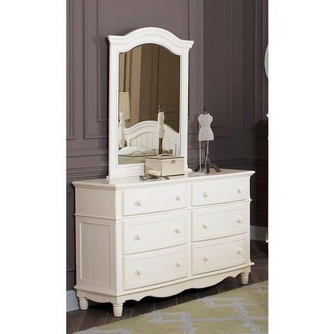 Homelegance Clementine Dresser In Antique White
