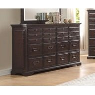 Homelegance Cranfills 6-Drawers Dresser In Cherry