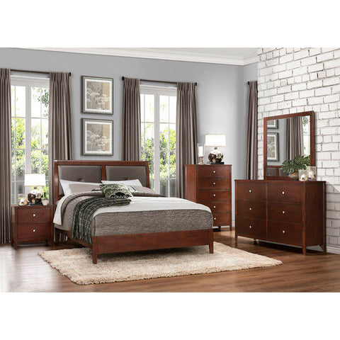 Homelegance Cullen Bed In Cherry