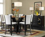 Homelegance Daisy 6 Piece Round Counter Height Dining Room Set