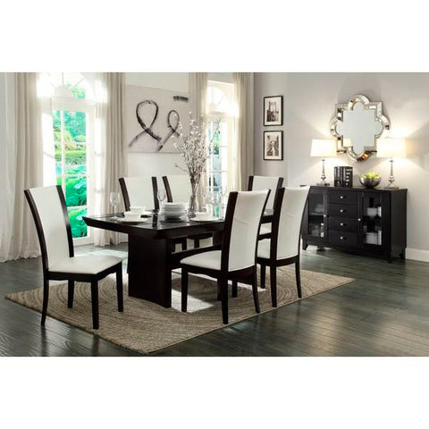 Homelegance Daisy Dining Table In Espresso